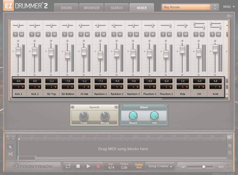 Ez Drummer 2 Default Output Routing