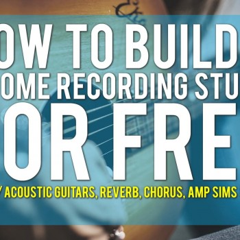 How To Build Your Home Recording Studio For Free Part 4